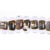 Lamp Bead Donut 50pc 9mm Wooden Brown